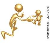 first steps | Shutterstock . vector #3242478