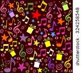 seamless pattern wallpaper of...   Shutterstock .eps vector #324258548