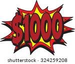 thousand | Shutterstock .eps vector #324259208