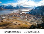 view over longyearbyen from... | Shutterstock . vector #324260816