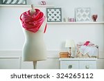 mannequin with cloth in room | Shutterstock . vector #324265112