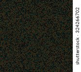 colored dots   beads on a dark... | Shutterstock .eps vector #324266702