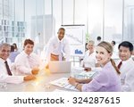 brainstorming discussion...   Shutterstock . vector #324287615