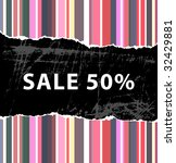 sale background design   50  off | Shutterstock .eps vector #32429881
