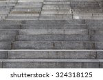 Abstract Modern Concrete Stair...