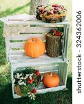 wedding decorations with fresh... | Shutterstock . vector #324362006
