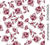 floral ornament pattern | Shutterstock . vector #324366626