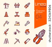 lineo colors   construction and ... | Shutterstock .eps vector #324369806
