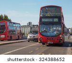 london  uk   september 28  2015 ... | Shutterstock . vector #324388652