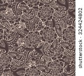 paisley pattern. paisley... | Shutterstock .eps vector #324424802