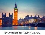 Big Ben And Westminster Bridge...