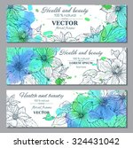 Set Of Three Horizontal Banner...