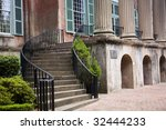 Stock photo steps in the college of charleston 32444233