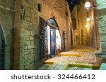 stone old city jaffa in tel... | Shutterstock . vector #324466412