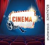 cinema show | Shutterstock .eps vector #324474728