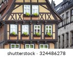 half timbered house in... | Shutterstock . vector #324486278