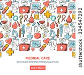 abstract medicine background.... | Shutterstock .eps vector #324547292