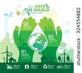 environment | Shutterstock .eps vector #324554882
