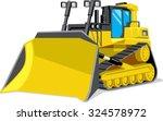 yellow building bulldozer....