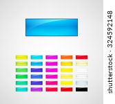 web buttons set | Shutterstock .eps vector #324592148