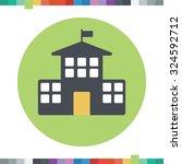 school icon. | Shutterstock .eps vector #324592712