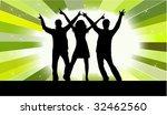 having fun   dancing peopl   Shutterstock .eps vector #32462560