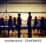 businessmen people handshake... | Shutterstock . vector #324634652
