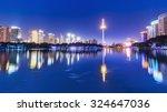 Cityscape Of Shenyang At Night...