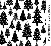 black and white seamless... | Shutterstock .eps vector #324648098