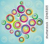 decorative illustration   Shutterstock .eps vector #32465305