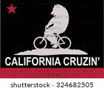 bike bear | Shutterstock .eps vector #324682505