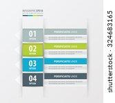 label design  green  blue  gray ... | Shutterstock .eps vector #324683165