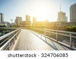 pedestrian overcrossing in the... | Shutterstock . vector #324706085