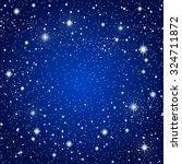 vector background. starry night ... | Shutterstock .eps vector #324711872