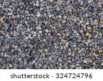 Background Of Small Stones Wit...