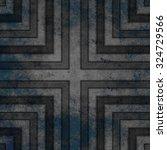 designed grunge texture or... | Shutterstock . vector #324729566