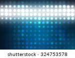 abstract blue football or... | Shutterstock . vector #324753578