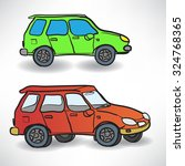 vector illustration of a two... | Shutterstock .eps vector #324768365