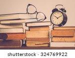 Education Concept. Alarm Clock...