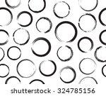 circles seamless pattern.vector ... | Shutterstock .eps vector #324785156
