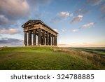 penshaw monument dominates... | Shutterstock . vector #324788885