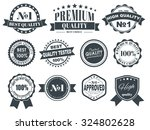 design of labels  emblems and... | Shutterstock .eps vector #324802628