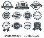 design of labels  emblems and... | Shutterstock .eps vector #324802628