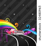 hip hop party ride | Shutterstock .eps vector #32480965