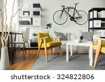 interior of contemporary living ... | Shutterstock . vector #324822806