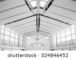 ceiling and window inside hall... | Shutterstock . vector #324846452