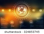 globe internet connecting | Shutterstock . vector #324853745