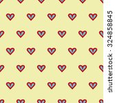 the pattern in the hearts.... | Shutterstock .eps vector #324858845