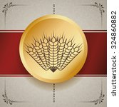 barley  concept and wheat... | Shutterstock .eps vector #324860882