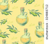 vintage seamless pattern with... | Shutterstock .eps vector #324883712